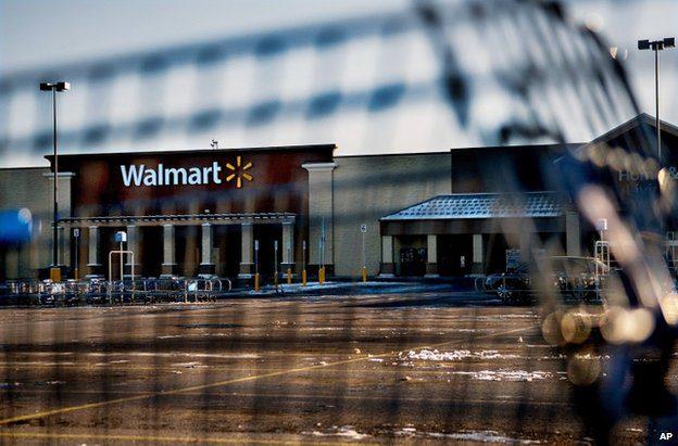 The Walmart store in Hayden