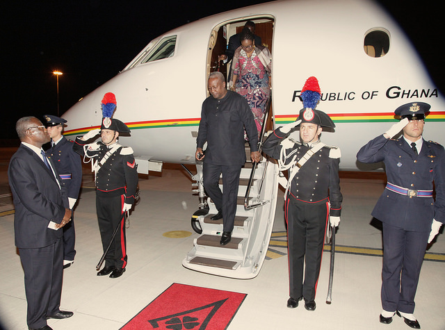 Mahama travels