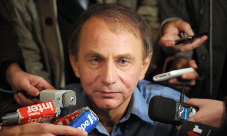 Michel Houellebecq, French author