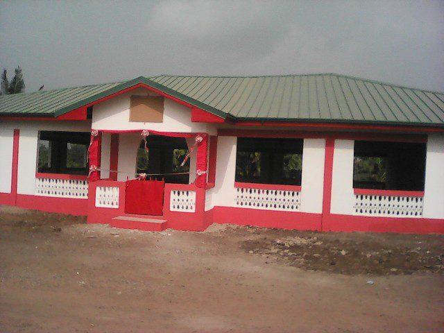 PAPA KWESI NDOUM's community Centre for Efutu Mampong