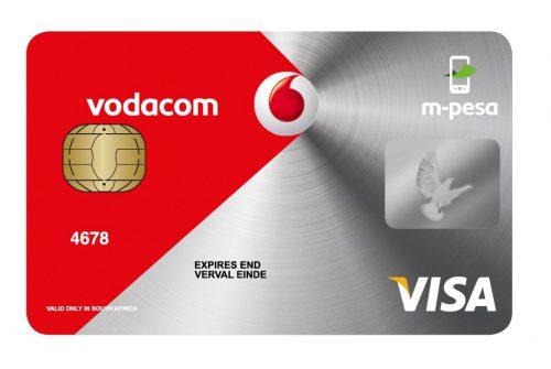 Vodacom m-pesa cardCC