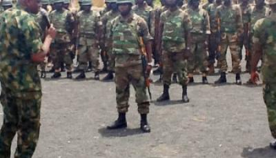 soldiers in yola