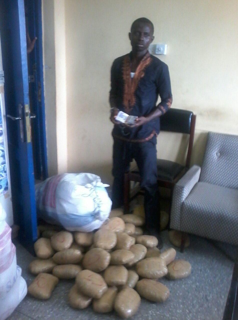 Suspected wee trafficker