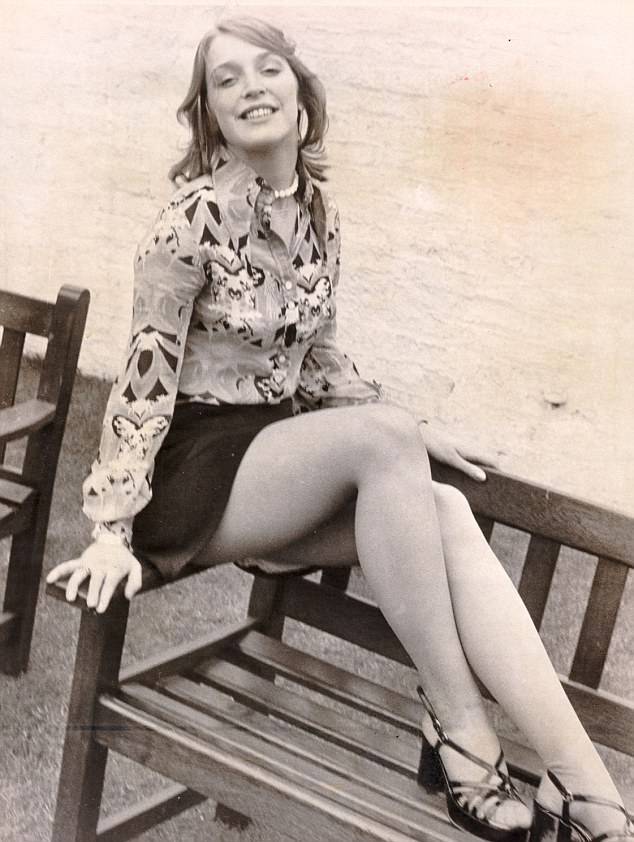 Anne Kirkbride as Deirdre in 1973, shortly after she began playing the soap icon