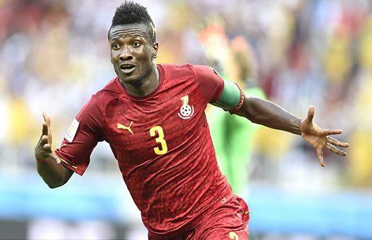 Asamoah Gyan enjoyed a superb 2014