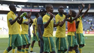 South Africa players during Warm Up Match between Rsa and Zambia