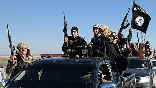 Islamic State had demanded a ransom in return for sparing the hostages? lives