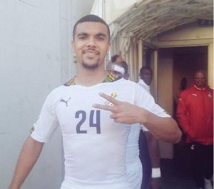 Kwesi Appiah scored on his debut for Ghana in the friendly win