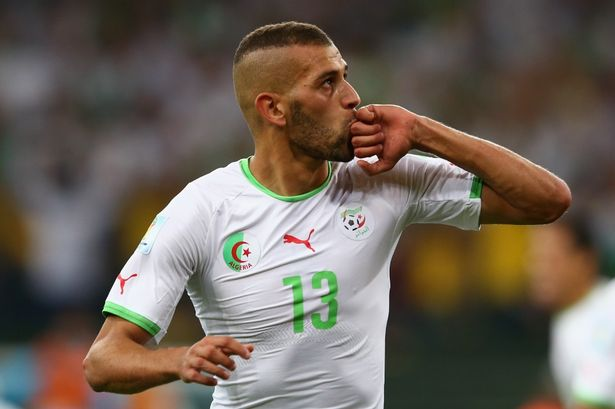 Islam Slimani: Algeria will approach Ghana game calmly
