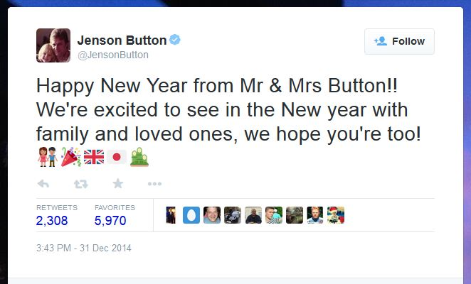 Button, 34, confirmed the news after newspaper speculation that the pair had married in Maui, Hawaii.
