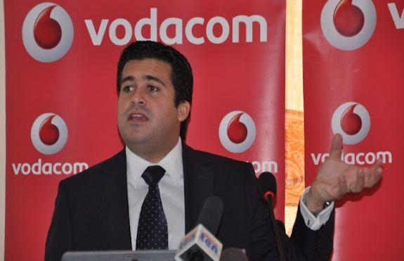 Vodacom Tanzania Managing Director, Mr Rene Meza