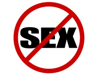 Abstain from sex