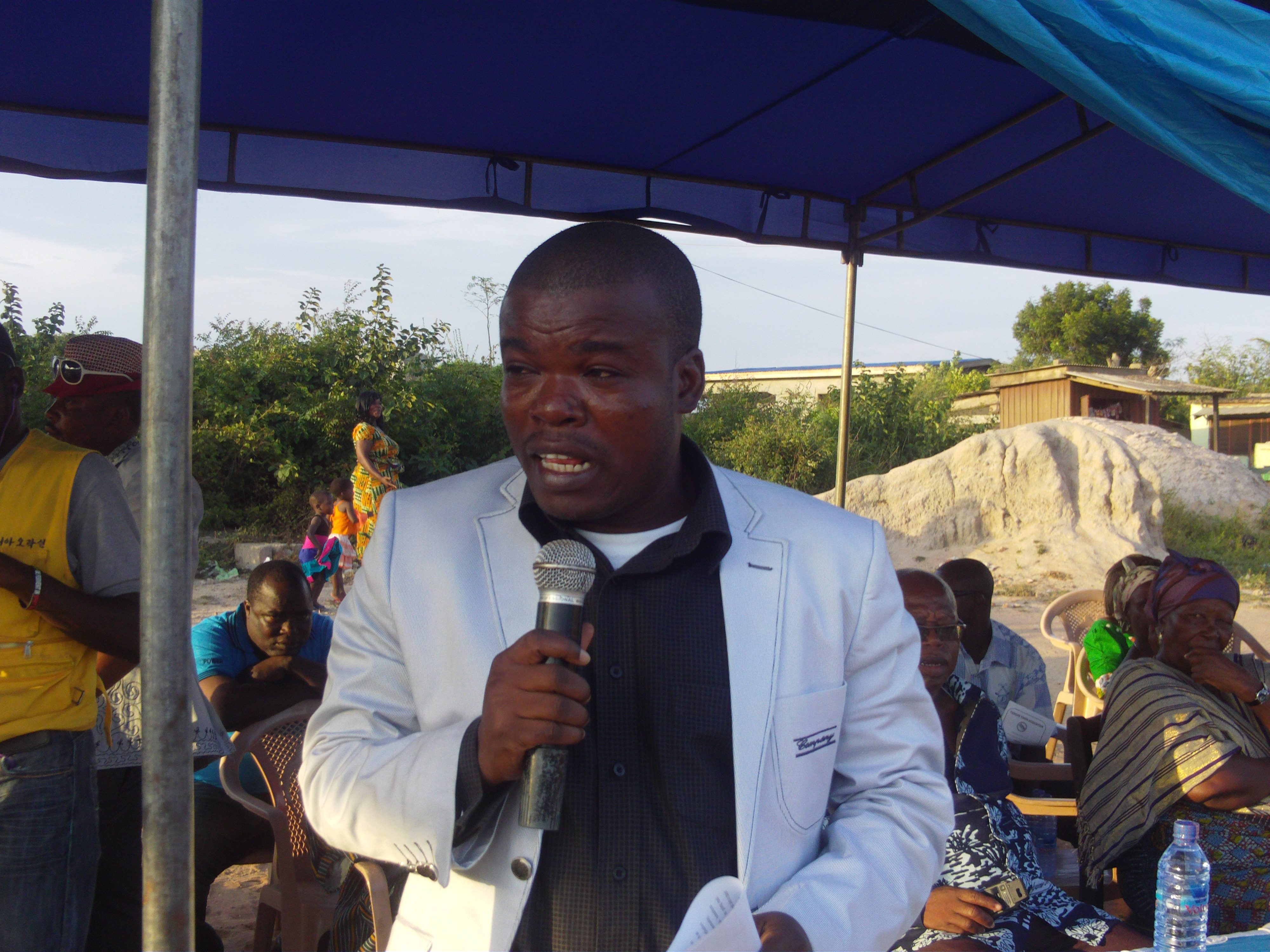 Bright Demordzi, Member of Parliament for Bortianor Ngleshie Amanfro Constituency