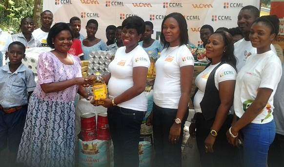 donation to Orphanage in Ofankor
