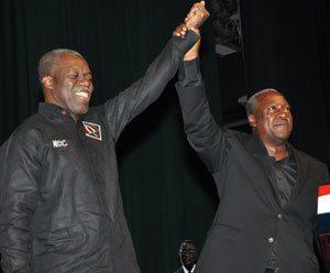 Amissah Arthur and John Mahama