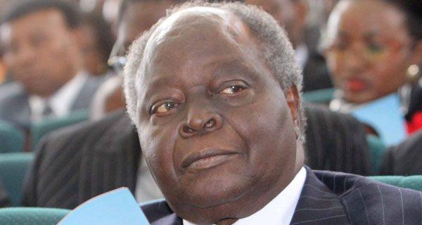 Retired President Mwai Kibaki