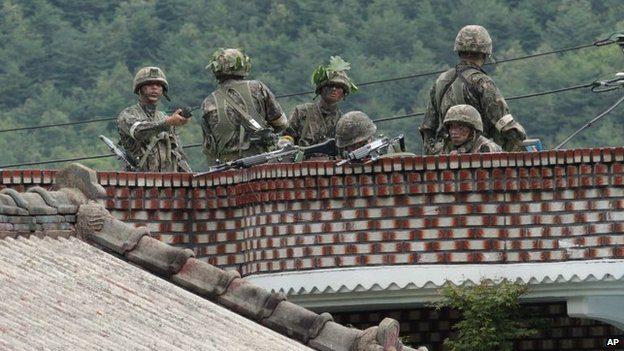 South Korea military