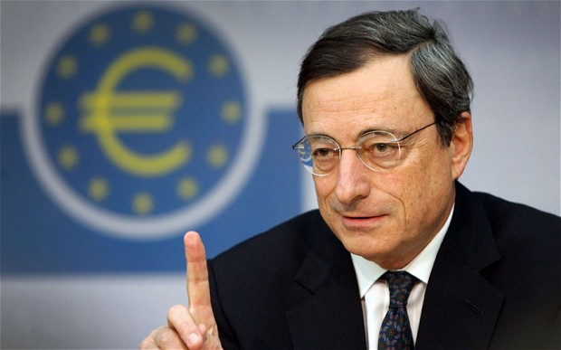 European Central Bank chief Mario Draghi