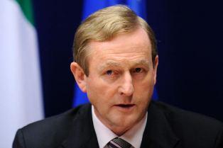 Irish Prime Minister Enda Kenn