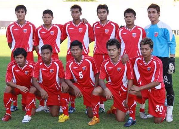 Myanmar soccer team