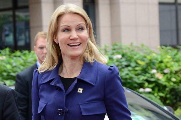 Denmark's Prime Minister Helle Thorning-Schmidt