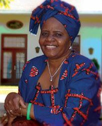 Namibian First Lady Penehupifo Pohamba