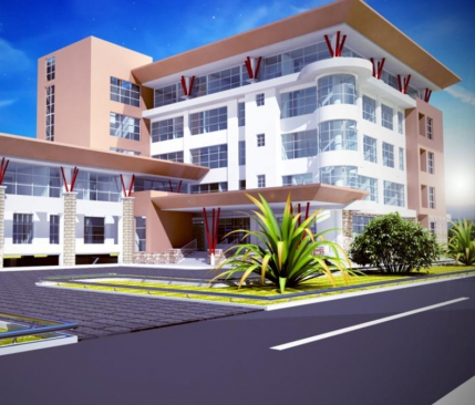 The architectural impression of LSK International Arbitration and Convention Centre