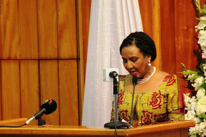 Mrs Mona Helen Quartey, Deputy Minister of Finance
