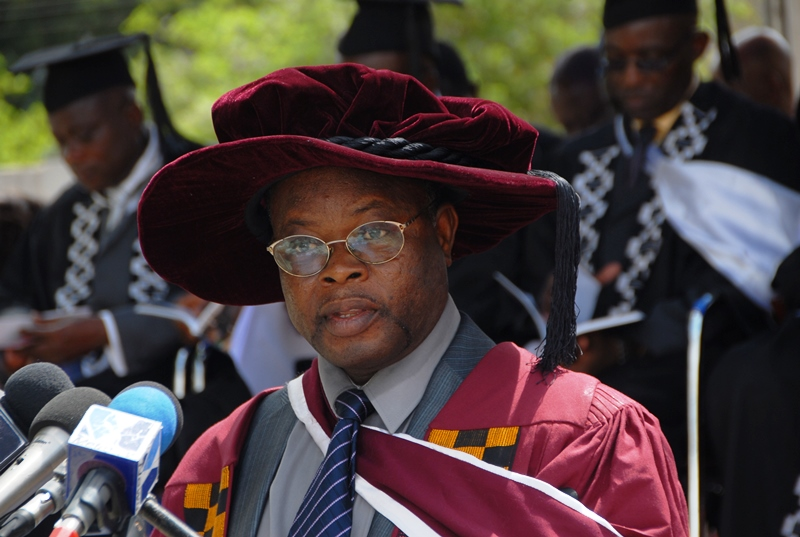 Professor Sylvester Achio, the Rector of Accra Polytechnic
