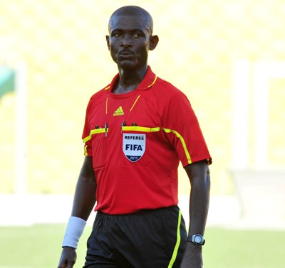 referee Joseph O. Lamptey