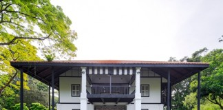 File photo provided by the United Nations Educational, Scientific and Cultural Organization (UNESCO) shows the Burkill Hall in the Singapore Botanic Gardens. The Singapore Botanic Gardens is now a UNESCO World Heritage Site after it was inscribed at the 39th session of the World Heritage Committee in Bonn, Germany, local TV Channel NewsAsia reported on July 4, 2015. (Xinhua)