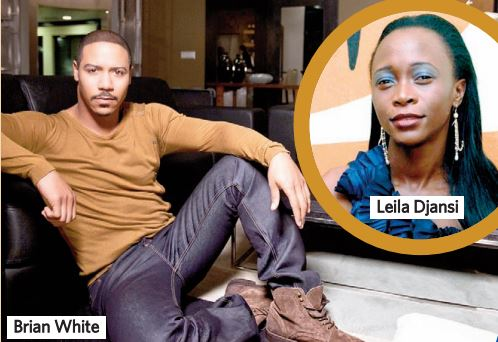 Brian White and Leila Djansi
