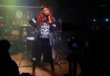 Cynthia Morgan thrilling the audience at Industry Nite with AFRIMA recently held in Lagos, Nigeria