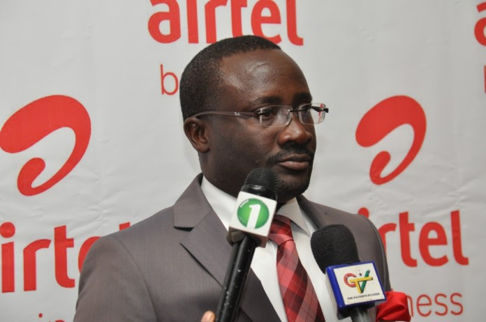 Maxwell Dodd, Director of Airtel Business, Airtel Ghana in an interview with the press.