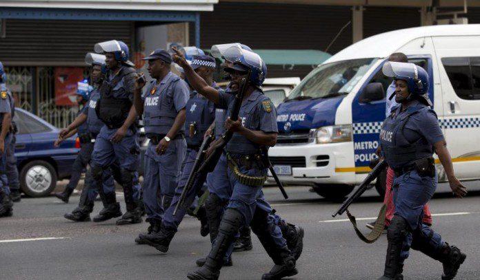 immigrants SA police