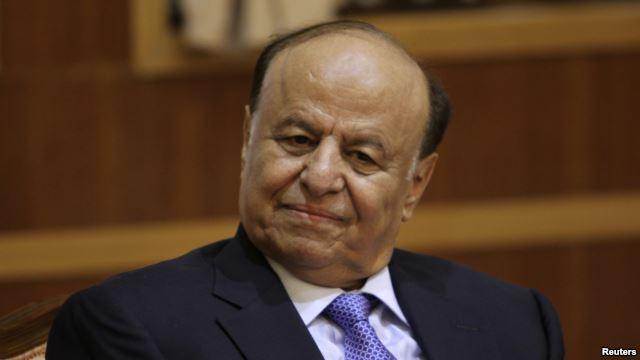 Yemen's President Abdu-Rabbu Mansour Hadi