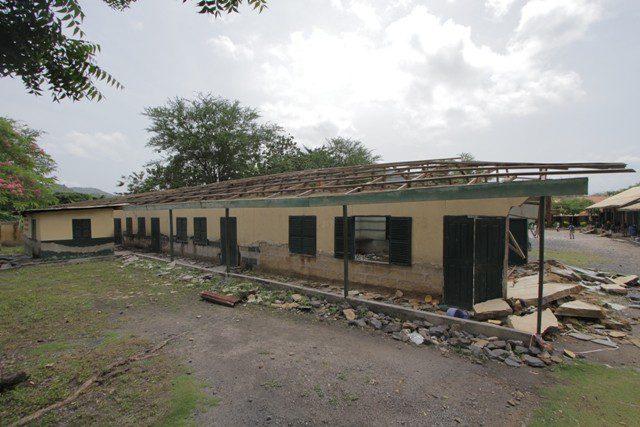 BEFORE RENOVATION OF SCHOOL