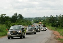 President convoy