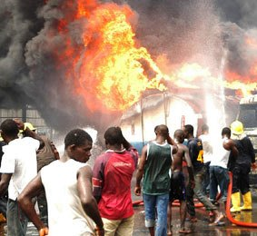 2 469 Fire Outbreaks Recorded In Ghana In 3 Months News