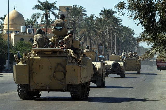 8 security men killed in armed attack in Egypt's Sinai | News Ghana