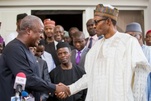 President Mahama and Buhari