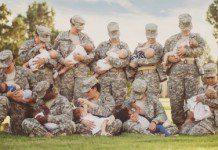 breastfeeding soldiers