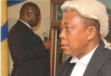 Mr Justice Essel Mensah and Mr Justice Ernest Obimpeh