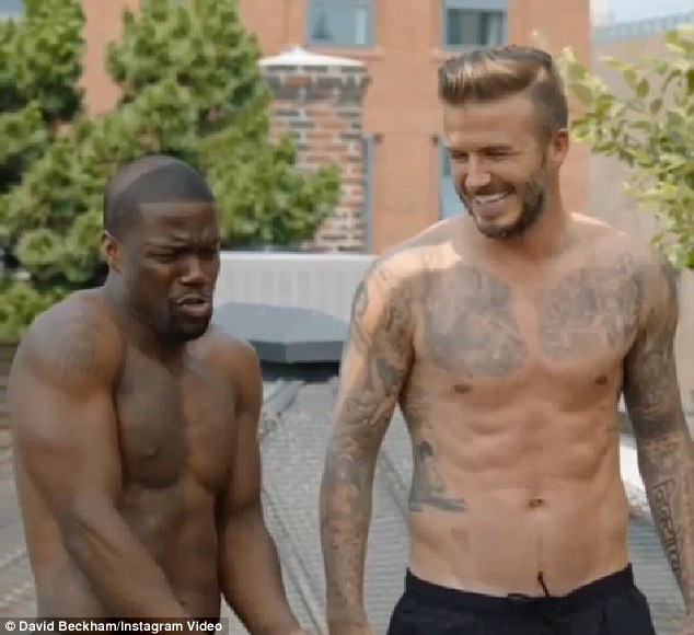 David Beckham features Actor Kevin Hart in new H&M video ...