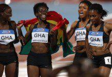 4X100m Ladies Bronze