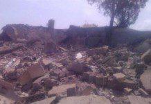 A Yemen hospital destroyed by Saudi airstrikes