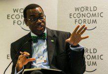 President of the African Development Bank (AfDB) Akinwuni Adesina
