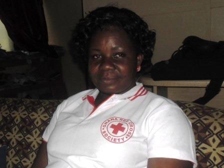 Catherine Adasu, Project Manager, cholera preparedness and response project.