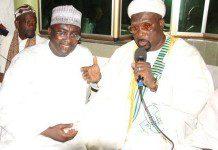 Dr Bawumia with Ashanti Regional Chief Imam