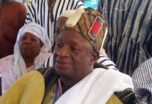 Chief of Madina Mamprusi community